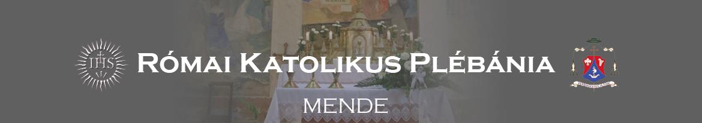 Római Katolikus Plébánia Mende